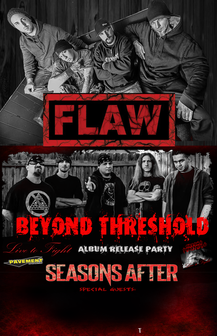 Posted In Music News Tags Beyond Threshold Cd Release Chesterfield Concert Sel Lounge Event Flaw Live To Fight Metal Mi